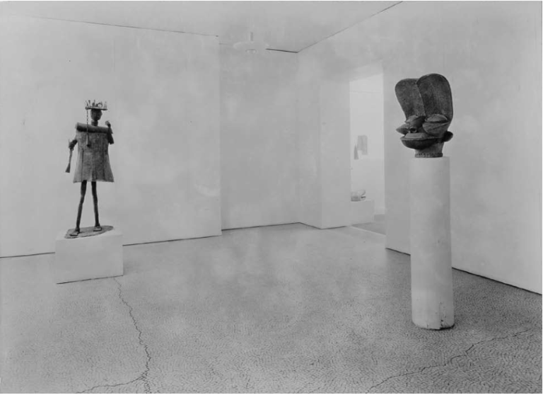 installation-view-of-the-exhibitionafrican-negro-art-1935-gelatin-silver-print