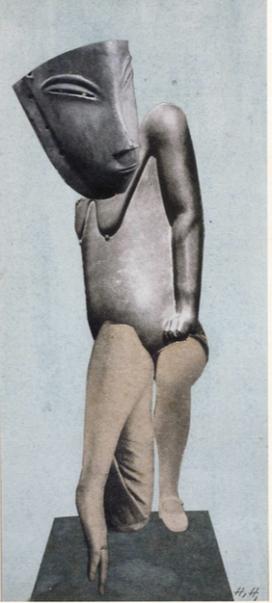 Hannah Hoch, Denkmal I (Monument I), from the series Aus einem ethnographischen Museum, no. VIII, 1924-1928