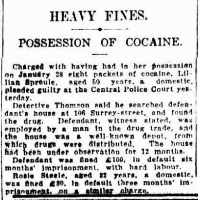 Sydney Morning Herald Wednesday 8 February 1928, page 10
