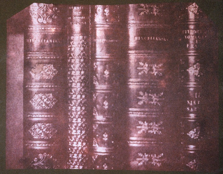 1840-detail-of-books-at-lacock-abbey-28-november
