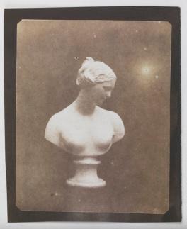 William Henry Fox Talbot Bust of Venus, c.1841, fixed in hypo, National Media Museum, Bradford