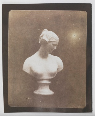 William Henry Fox Talbot Bust of Venus, c.1841, fixed in hypo, National Media Museum, Bradford