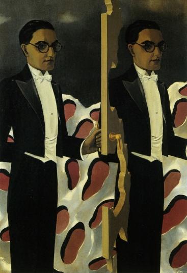René Magritte Portrait of Paul Nougé 1927