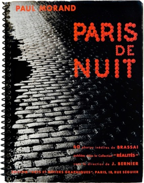 """Paris by Night"" by Brassia. Photo books for auction at Christies, St. James's London on 31 May 2007. Lot 41."