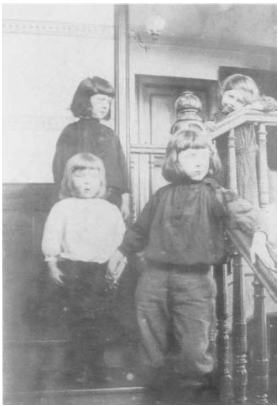 photographic study for Fernand Khnopff, Portrait of Monsieur Neve's Children 1893