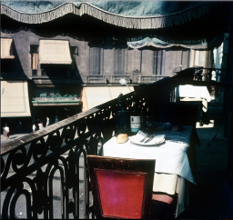 set-table-on-balcony-with-street-spain-1950-1960