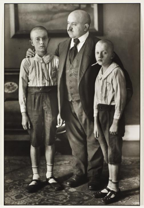 Widower 1914, printed 1990 by August Sander 1876-1964