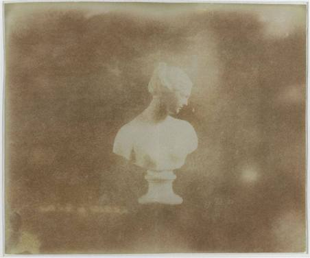 William Henry Fox Talbot, Venus, photographed 29th February 1840, Salt Print fixed in hypo