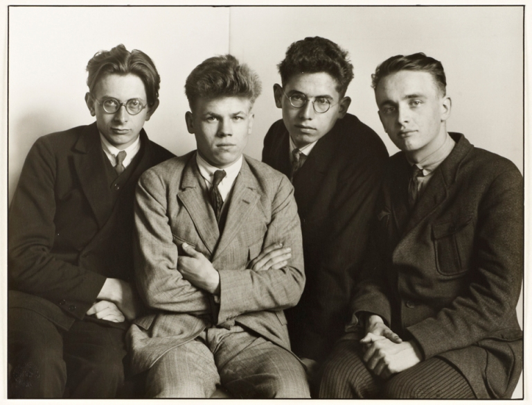 August Sander, Worker Students, 1926