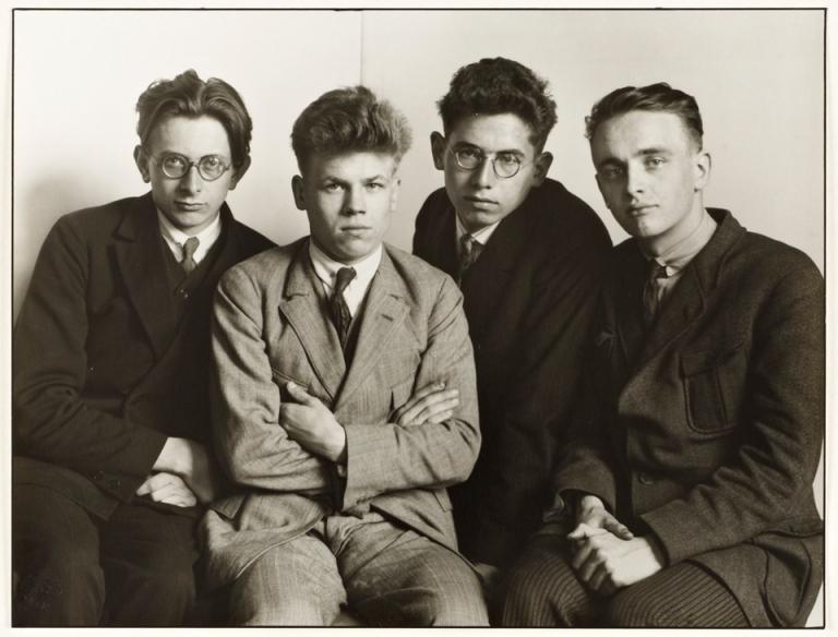 August Sander, Worker Students, 1926
