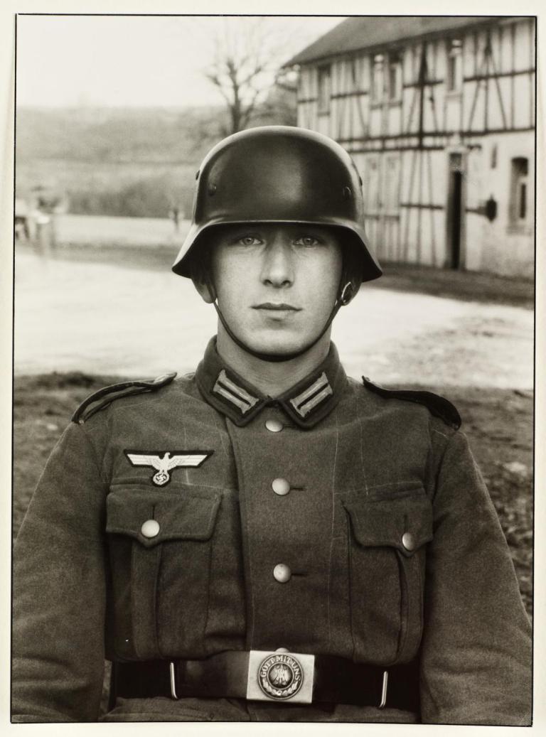 Soldier c. 1940, printed 1990 by August Sander 1876-1964