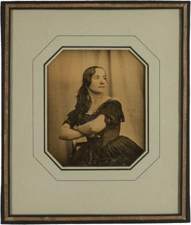 Carl Ferdinand Stelzner (1843) The actress Auguste Wittuhn-Fehringer at the Stadttheater Hamburg