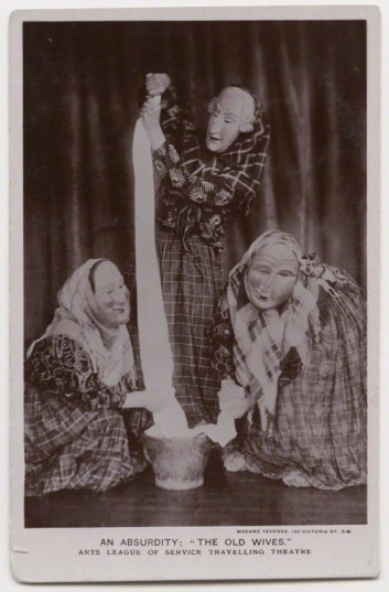 Madame Yevonde (1920s) An Absurdity: 'The Old Wives' (Arts League of Service Travelling Theatre)