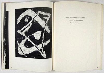 Heinz Hajek-Halke Book pages from Heinz Hajek-Halke Experimentelle Fotografie- Lichtgrafik (Bonn- Athenäum Verlag, 1955)