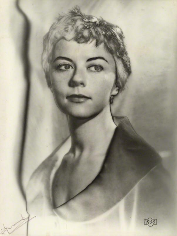 NPG x29726; Dame Dorothy Tutin by Madame Yevonde
