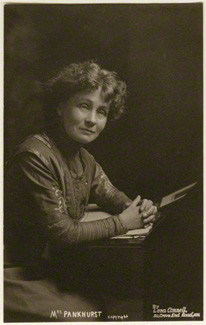 Lena Connell (later Beatrice Cundy) (1875-1949); Emmeline Pankhurst, circa 1907