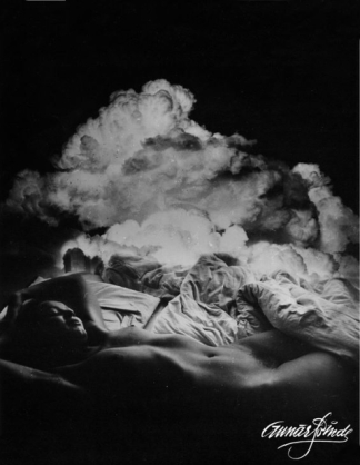 Gunars Binde (1974) The story of Zeus coming down from the sky in the form of clouds to visit Danae, a mortal woman living in the countryside