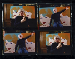 Harry Benson (1983) Andy Warhol