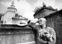 Harry Benson (1980) Truman Capote, New Orleans