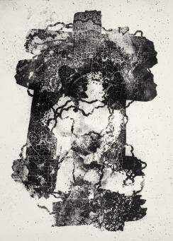 "Heinz Hajek-Halke ""Vergänglichkeit"" 1965 Gelatin silver print 60,7 x 51 cm"