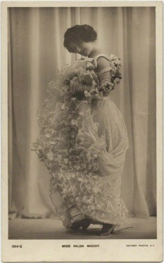 Actress Hilda Moody by Lallie Charles