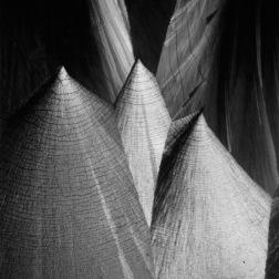 Carl Struwe (1927) Kegelform, Kristallbild der Hippursäure