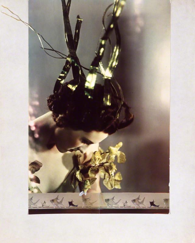 NPG x26034; Lady Bridgett Elizabeth Felicia Henrietta Augusta Poulett as Arethusa by Madame Yevonde