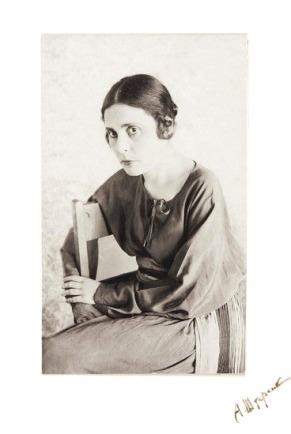 lili-brik-1920s-by-abram-p-shterenberg