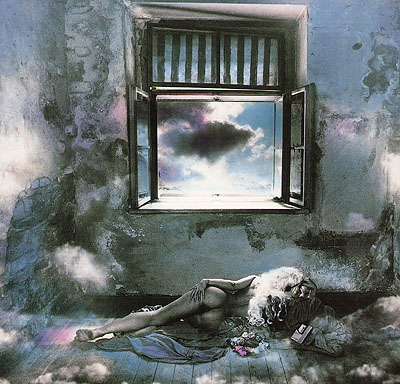 Jan Saudek (1984) Olga in the Clouds