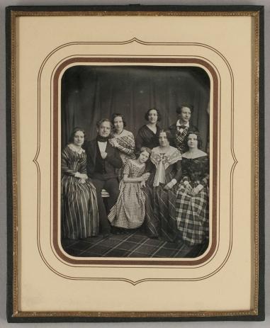 Karl Ferdinand Stelzner (1855) Family portrait