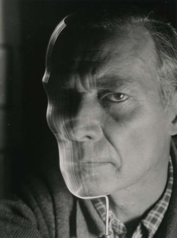 Selbstportrait mit Draht-montage (Self-portrait with Wire Montage), 1950s