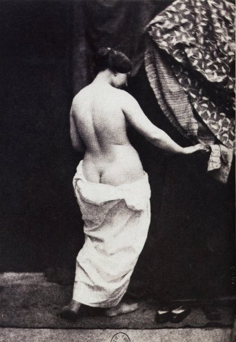 Julien Vallou de Villeneuve (1853) Nude study
