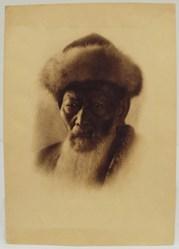Abram Shterenberg (1930) The Kazakh Poet Dzhambul Dzhabayev