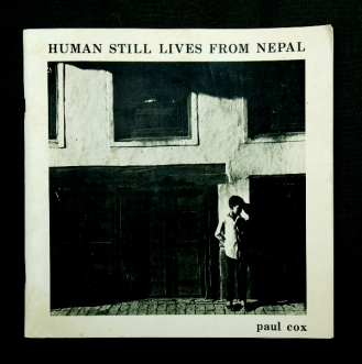 BOOK, Paul COX, 'Human Still Lives from Nepal'. Ltd ed. #171:500, signed by author. Printed by Alexander Bros.jpg
