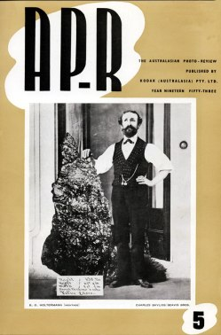 Keast Burke's special issue 5 of AP-R 1953, on B. O. Holtermann,