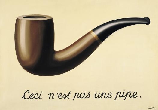 Magritte ( 1928–29) La trahison des images