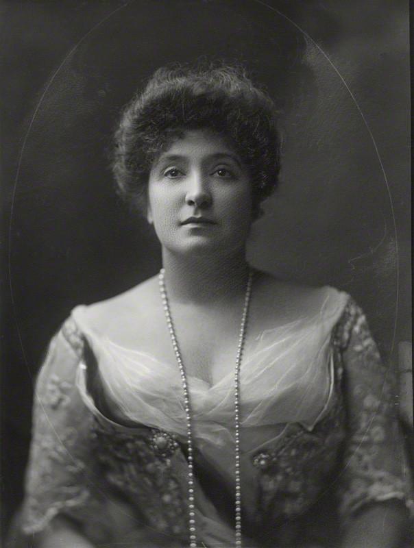 NPG x76278; Nellie Melba by Henry Walter ('H. Walter') Barnett