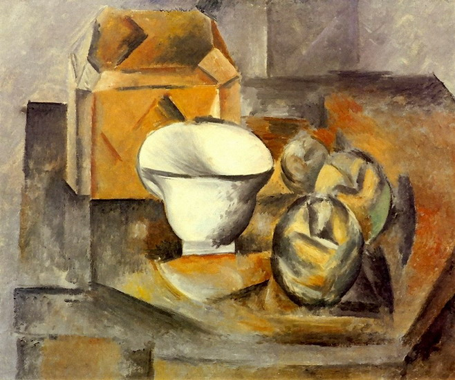 pablo-picasso-still-life-cabinet-fruit-dish-cup-1909