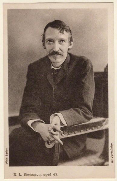 Henry Walter ('H. Walter') Barnett (1893) Robert Louis Stevenson postcard print