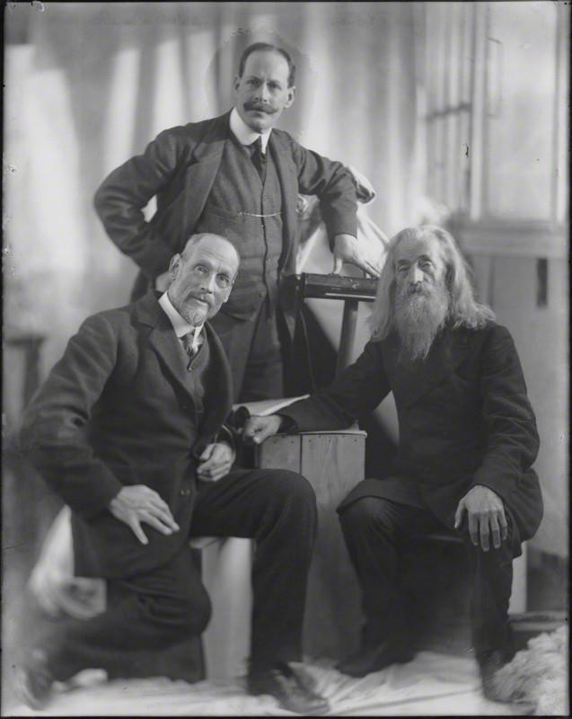 NPG x81782; Tom Roberts; Henry Walter ('H. Walter') Barnett; Louis de Rougemont by Henry Walter ('H. Walter') Barnett