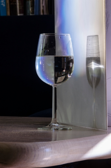 James McArdle (2013) Wine glass. Chromogenic print on C-Type paper from digital file.