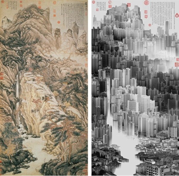 yang-yongliang-has-established-a-connection-between-his-ethereal-creations-and-ancient-chinese-works-phantom-landscape-i-no-2-2006-60-x-120-cm-inkjet-print-on-fine-art-paper