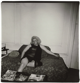 artwork-by-diane-arbus-transvestite-on-a-couch-n-y-c-1966