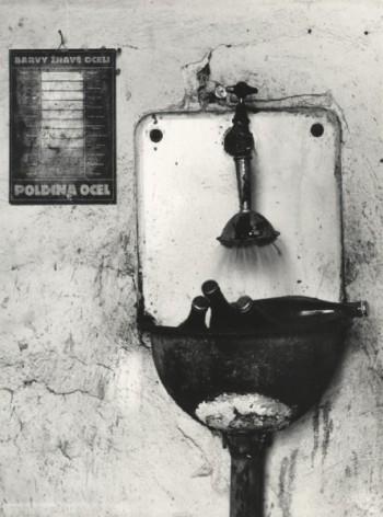 Ivo Přeček (1962) Cooling Beer. Silver gelatin print