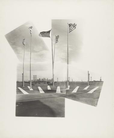 Gerald Incandela, photographer (1977), Liberty Island, Gelatin silver print, 43.2 x 46 cm