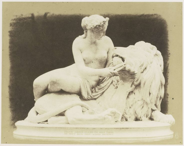 guillaume-geefs-1805-1883-of-antwerp-lion-in-love-plaster-photographed-by-hugh-owen