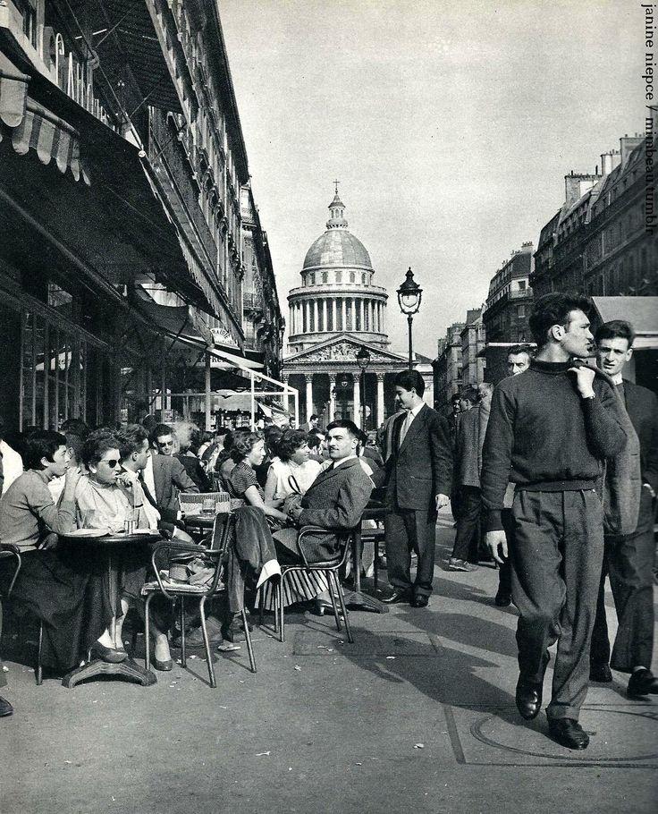 rue-soufflot-pantheon-paris-circa-1950-janine-niepce