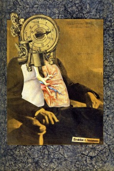 Raoul Hausmann (1920) Self-Portrait of the Dadsoph