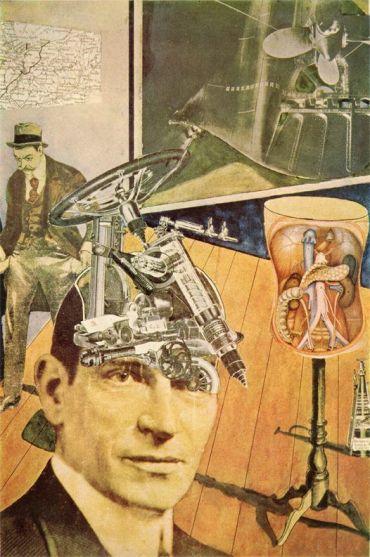 Raoul Hausmann (1920)Tatlin at Home