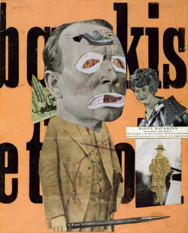 Raoul Hausmann (1919-20) The Art Critic